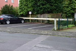 Vier Parkplätze für Patienten der Praxis Haltern am See